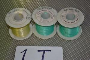 One Lot Of 3 Rolls Wire Wrapping Wire By Page Digital Electronics