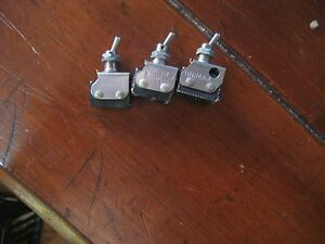 New Micro Microswitch Unimax Switch Toggle Lot Of 3 2lb1 1c 6at3 6at2 t