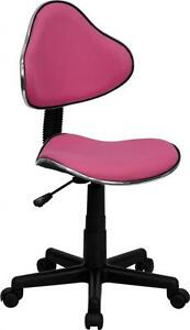 Flash Furniture Pink Fabric Ergonomic Task Chair Bt 699 pink gg New