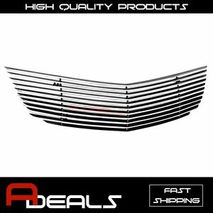 For Chevy Impala 2000 2005 Upper Billet Grille Grill Insert A d