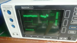 Space Labs R90623a Ecg resp Patient Monitor