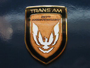 89 Pontiac Firebird 20th Anniversary Turbo Trans Am Front Nose Badge