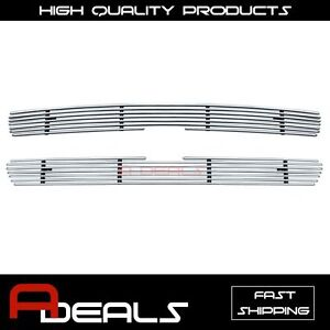 For Chevy Silverado 1500 1999 2000 2001 2002 Upper Billet Grille Grill Insert
