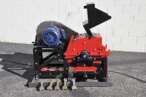 Global Mining Equipment Gme14 hammermill Electric 3phase 15hp Motor
