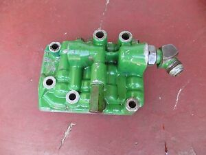 1966 John Deere 4020 Diesel Farm Tractor Transmission Clutch Regulating Valve