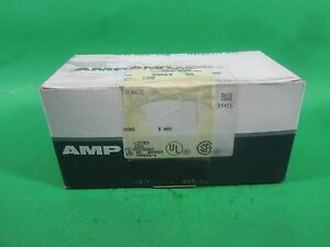 Amp Solistrand Electrical Connectors 35664 lot Of 100 New