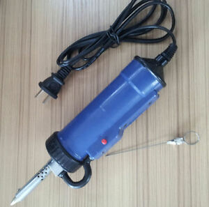 Heater 30w 220v 50hz Electric Vacuum Solder Sucker desoldering Pump Iron Gun