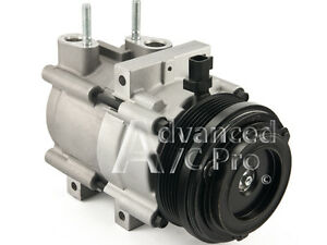 New A C Compressor Fits 2006 2011 Crown Victoria Town Car Marquis V8 4 6l