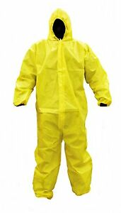 Malt Prochem Hooded Coverall Chemical biohazard Protection Tychem Alt 25 case