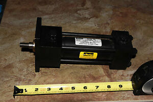 Parker Hydraulic Cylinder Series 2h 1 50 J2hus14a 3 125 Style J