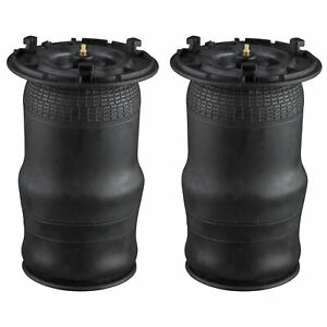 Air Suspension Bags Rear Pair For Rainer Chevy Envoy 9 7x Fit A2610 25815604
