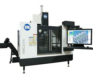 Dm Vmc644 Cnc Machining Center 3 4 5 Axis Built In Cad cam cmm Software