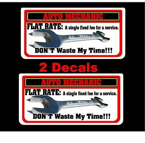 Don T Waste My Time Decal Mac Toolbox Tool Cart Drill Wrench Drill Air Rachet