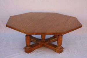 Large 1920 S Coffee Table Signed By Jack Rennick From La Spanish Revival 7344