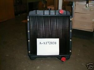 Case 580k 580sk 580 Sk Super K Loader Backhoe Radiator A172038 New