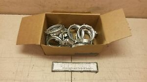 Qty 10 Thomas Betts Grounding Bushings Steel Insulated 2 Rigid Conduit Bg806