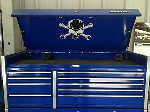 Skull And Cross Wrenches Decal For Top Box Lid Snap On Tool Box Krl Classic