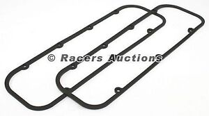 Big Block Chevy Valve Cover Gaskets Rubber Steel Shim Core 454 427 396 402 Bbc
