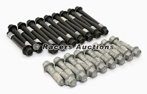 Sbc Chevy Head Bolts 190k Psi Hex Head Cast Iron Or Aluminum 283 305 327 350 400