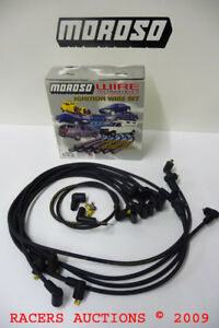 Sbc Small Block Chevy 327 350 400 Spark Plug Wires For Old Delco Points Dist