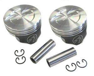 Speed Pro H859cp40 Small Block Chevy 383 385 Dished Hyper Pistons 040 Sbc 5 7