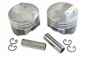 Speed Pro H617cp30 Small Block Chevy 350 355 275 Dome Hyper Pistons 030 Sbc 5 7