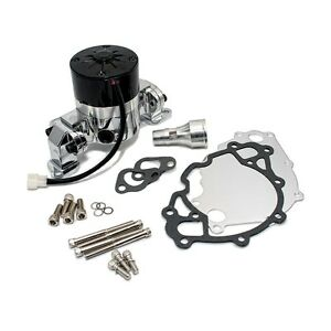 Polished Aluminum Billet Electric Water Pump Small Block Ford 302 351w Mustang