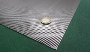 Perforated Staggered Steel Sheet 030 Thick X 24 X 24 05 Hole Dia