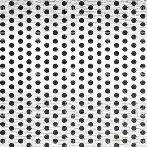 Perforated Staggered Steel Sheet 030 Thick X 24 X 24 156 Hole Dia