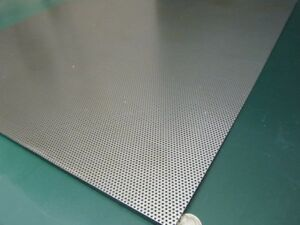 Perforated Staggered Steel Sheet 060 Thick X 24 X 24 062 Hole Dia
