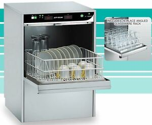 Jet Tech F 16dp Compact High temp Undercounter Commercial Dishwasher 1 Rated