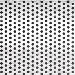 Perforated Straggered Steel Sheet 075 Thick X 36 X 40 375 Hole Dia
