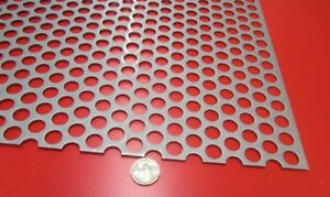 Perforated Staggered Steel Sheet 075 Thick X 36 X 40 500 Hole Dia