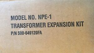 Faraday Npe 1 Transformer Expansion Kit P n 500 649120fa New Fire Alarm