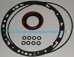Gm Turbo Th Thm 350 350c Transmission Front Oil Pump Gasket O Ring Reseal Kit