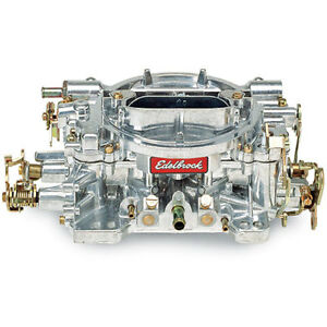 Edelbrock 14056 Performer Carburetor 600cfm Supercharger Calibration