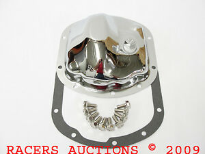 Dana 30 Chrome Front Differential Cover Kit With Gasket And Bolts Dodge Ford