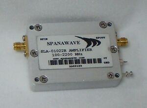 New Spanawave Low Noise Amplifier 100 2200 Mhz Sla 01022r