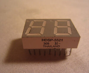 Hdsp 5521 305 H Dip Led Display Chip Anode Thailand