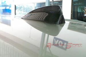 Unique Real 3d Glossy Carbon Fiber Shark Fin Antenna Cover For 11 16 Bmw X3 F25
