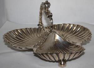 Vintage Mappin Webbs Princes Silver Plated Hors D Oeuvres Serving Dish Pl 3965
