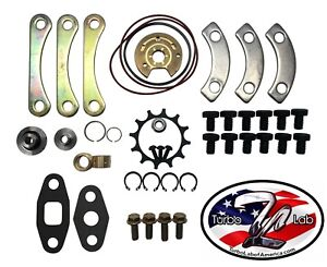 Upgraded Garrett Precision Turbo 360 Rebuild Kit 50 60 Trim To4e To4b