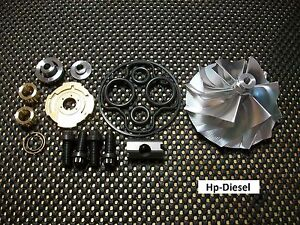 1994 5 2003 7 3 Billet Turbocharger Compressor Wheel And 360 Rebuild Kit