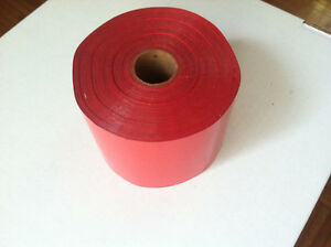 Kwikprint Kingsley Tipper Hot Stamping Printing Foil Roll 1800 Ft 3 Wide Red