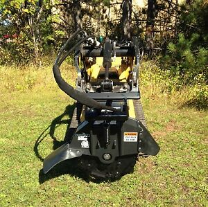 Stumper 240 Stump Grinder Attachment For Skid steers And Mini Excavators