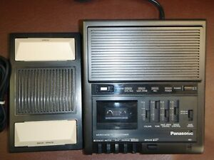 Panasonic Rr930 Microcassette Transcriber With Foot Pedal Warranty