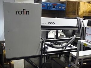 Rofin Sinar Rsy 100 D Powerline 100d Class 4 Laser Engraving Scoring System