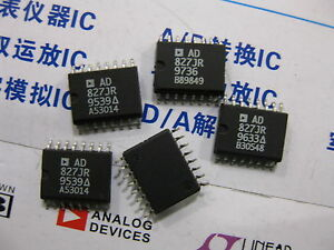 1x Ad827jr High Speed Low Power Dual Op Amp Ad827