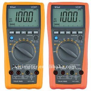 Vichy Vc87 True Rms Digital Multimeter For Motor Drives Industrial Dmm