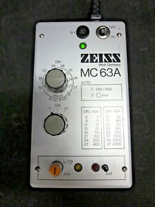Zeiss Mc 63a Control 47 74 20 Mc63a
